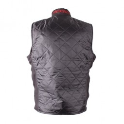 Heated vest achter