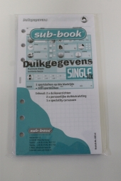 Logboek vulling Single & TEK, 6 rings