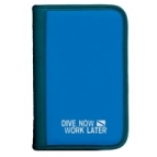 Logboek Sub Base blauw Dive Now - Work Later , 6 rings