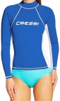 Cressi Rash Guard UV shirt LADY LONG