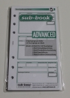 Logboek vulling Advanced, 6 rings